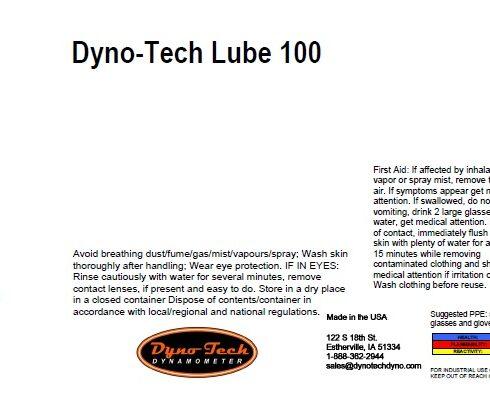Dyno Tech Lube 100