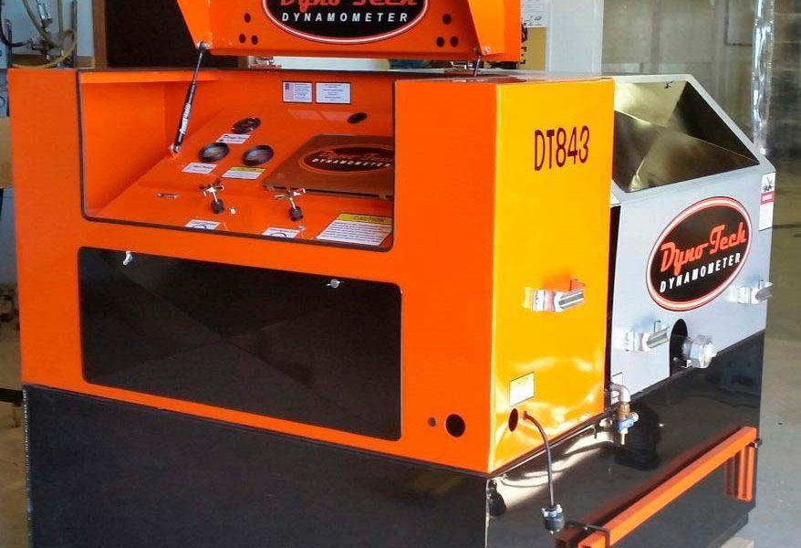 DT843 PTO Dynamometer installation