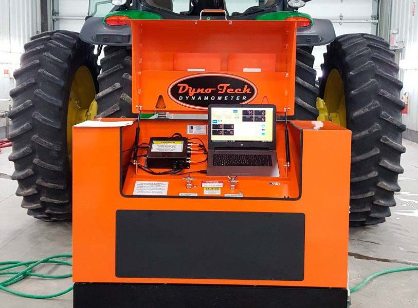 DT843 PTO Dyno installed at Ogallala - control panel