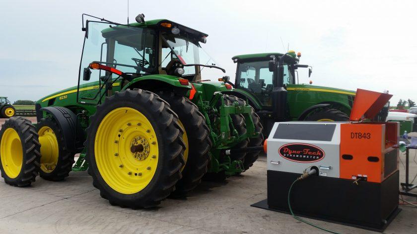 Dynotech DT843 PTO dyno testing John Deere tractors